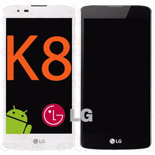 Tela Touch Display Lcd Frontal Lg K8 K350 K350ds - C/ Aro