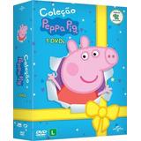 Coleção Peppa Pig (3 Dvds)