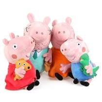 Família Peppa Pig De Pelucia A Pronta Entrega