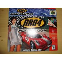 Label Nintendo 64 - Rr64 Ridge Racer 64 - Original