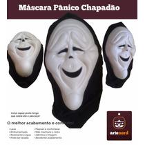 Máscara Fantasia Halloween - Pânico Chapadão Exclusiva