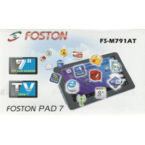 Tablet Foston M791 Android 4.0 Tela 7 Capacitiva Tv Digital