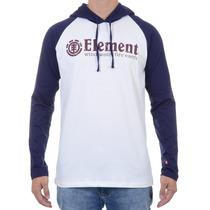 Camiseta Masculina Element Manga Longa Hood