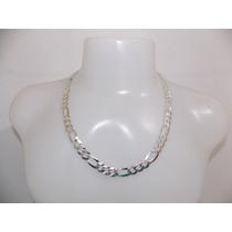 Corrente,cordão De Prata Masculina - 3x1 - 4 - 925