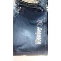 Bermudas Shorts Jeans Bordadas De Grife Famosas