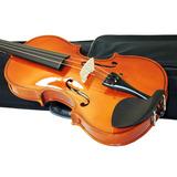 Violino Barth Violins 4/4 C/ Estojo+ Arco+ Breu- Completo-cr