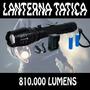 Lanterna Tática Police 810.000 Lumens Led T6 Militar + Forte
