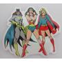 Adesivos Engraçados De Super Herois- Dc/marvel
