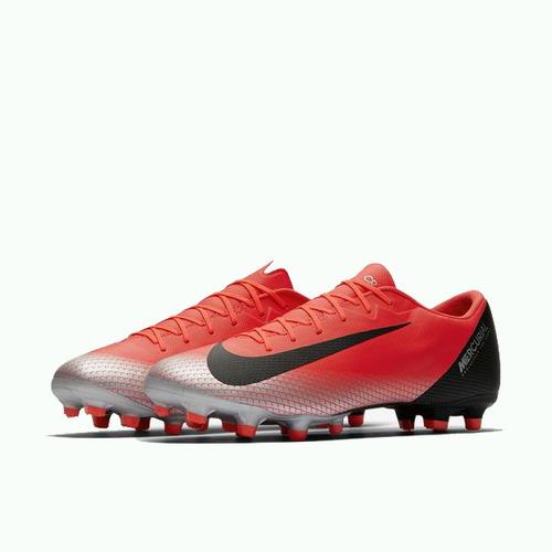 9812e8262e Chuteira Nike Vapor 12 Academy Cr7 Mg Campo Original + Nf