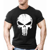 Camiseta Camisa Justiceiro Fitness Malhar 20% Off Top