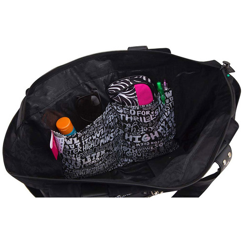 Bolsa De Ombro Monster High : Comprar bolsa monster high em poli?ster preto sestini