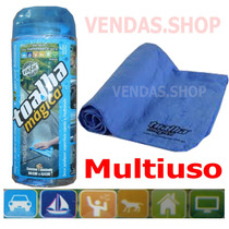 Toalha Magica Original Limpeza Secar Lataria Carro Moto