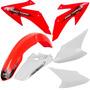 Kit Plástico Honda Crf 230f 2008 À 2014 Pro Tork - Vermelho