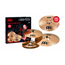 Meinl Kit De Pratos Mcs 14/16/20 E Medium 18