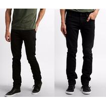 Calça Sarja Masculina Slim Fit Lycra | Skinny | Várias Cores