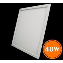 Luminária Plafon Led 48w 60x60 Embutir Classe A - Frete Grát