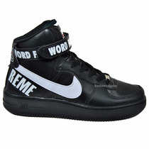 Nike Air Force Supreme Word Famous Exclusiva Promoção!!