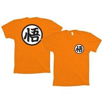 Camiseta Dragon Ball - Kimono Goku Para Treino Cod 163