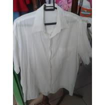 Lote De Roupas Camisas Brancas Masculino E Feminino Brechó!!