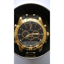 Relógio Masculino Grande Barato Promoção-cronos Decorativos