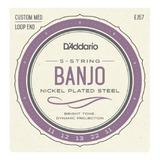 Encordoamento Banjo Country 5 Cordas Daddario Ej57