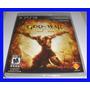 God Of War Ascension Playstation 3 Ps3 Portugues Deus Guerra
