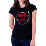 Camiseta Blusa Feminina Alucinação Belchior