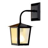 Lâmpada De Parede Ideal Iluminação L-2-b Preta 110v/220v 1 Unidad