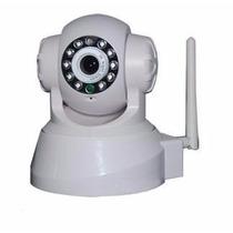 Câmera Ip Sem Fio Wireless Com Movimentação E Visão Noturna