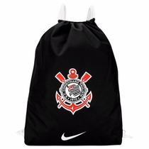 Mochila Nike Sacola Bolsa Corinthians Academia Original