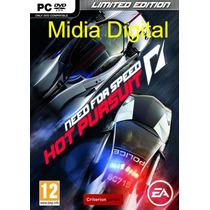 Need For Speed Hot Pursuit Pc Em Hd + Brind Original!!