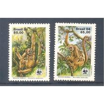 Selos Brasil Preservação Da Fauna Brasileira Rhm 1401/02