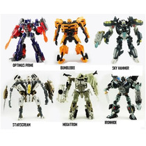 Transformers,optimus Prime,bumblebee,megatrom+ Frete Grátis