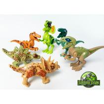 Brinquedos Dinossauros Compatível Lego / Pacote Com 6 Dinos