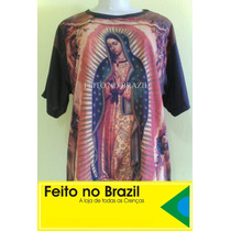 Camiseta & Baby Look Nossa Senhora De Guadalupe