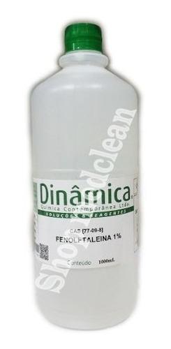 Solução Fenolftaleina Indicador De Ph Alcalino Fr 1 Lt