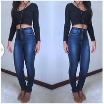 Calça Jeans Levanta E Modela O Bumbum Colcci Morena Rosa
