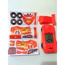 Kit Com 3 Mini Game Disney Carros Adesivos Jogo Macqueen