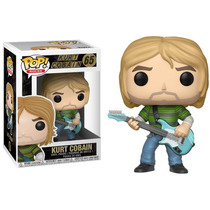 Pop! Rocks Kurt Cobain Nº 65 Funko