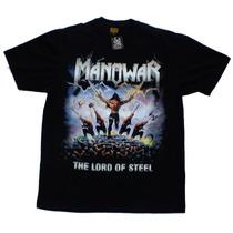 Camiseta De Banda - Manowar