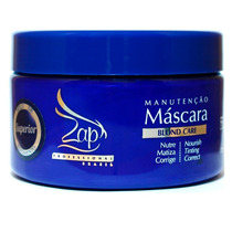 Zap Máscara Matizadora Manutenção Blond Care 250g