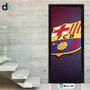 Adesivo Porta (esporte)- Futebol Barcelona- Barc01 Dekorarte