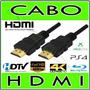 Kit Com 10 Cabos Hdmi  Tv, Ps3, Ps4, Xbox, Conversor Digital