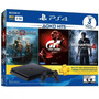 Ps4 Slim Sony 1tb 3 Jogos Bundl Playstation 4 Pronta Entrega