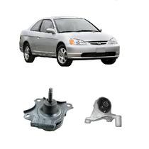 Calço Coxim Motor Esquerdo + Frontal Civic Manual 01/06 Novo