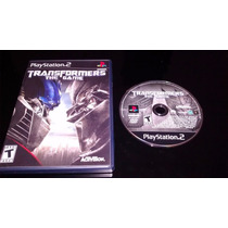 * * Jogo Ps2 Original - Transformers The Game * *