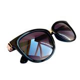 Óculos Feminino De Sol Quadrado Degrade Com Proteção Uv400