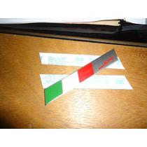 Emblema Bandeira Italia Motorsport Fiat500,sline Linea Punto
