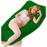 Travesseiro Gigante Pra Gestante Conforto Estampado Promoção