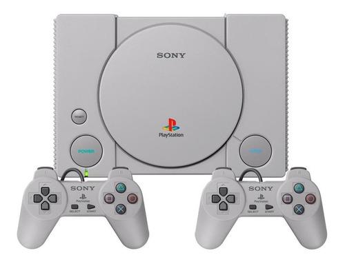 Sony Playstation Classic 16gb Cinza